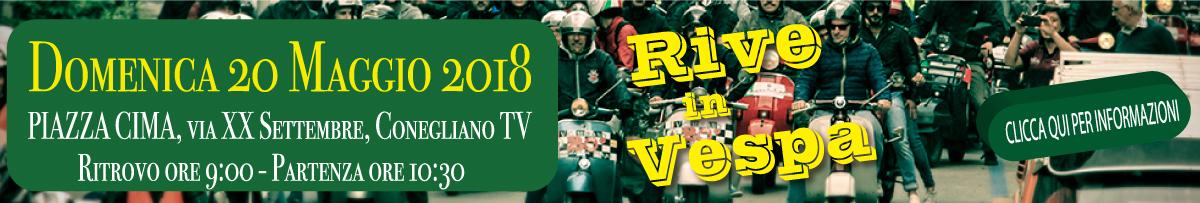 Rive in Vespa 2018 - 20 Maggio a Conegliano TV